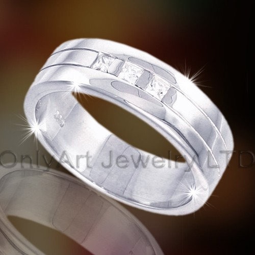 Zilver of Brass Fashion Ring OAR0012