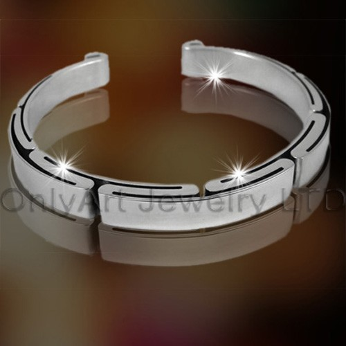 2011 Hot 316 Stainless Steel manchet Bangle OATB0003