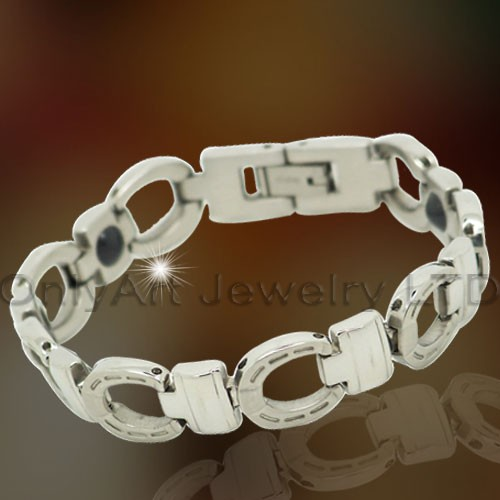Gezonde roestvrij staal Lady armband sieraden OATB0061