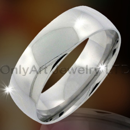Roestvrij staal of Titanium Fashion vinger Ring OATR0055