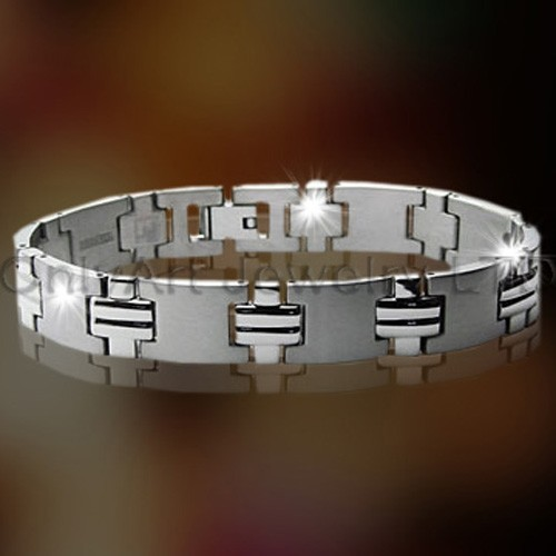 Staal of Titanium Jewelry Mens OATB0035