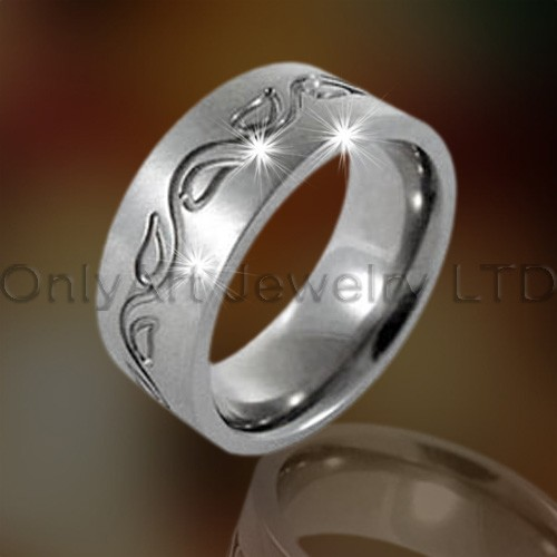 Roestvrij staal Mens Ring OATR0181