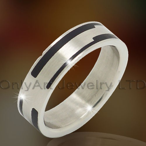 Roestvrij staal of Titanium Jewelry Ring OATR0296