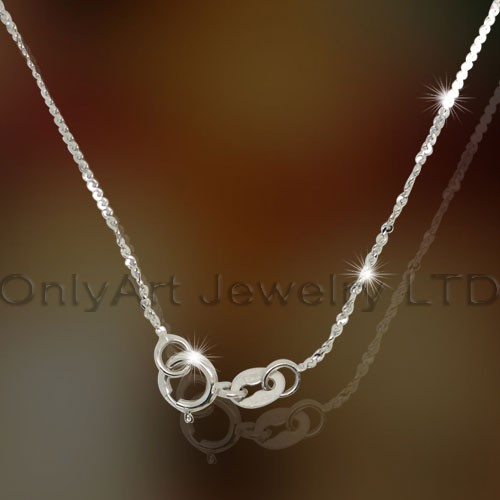 Sterling Silver Lady ketting OAN0013